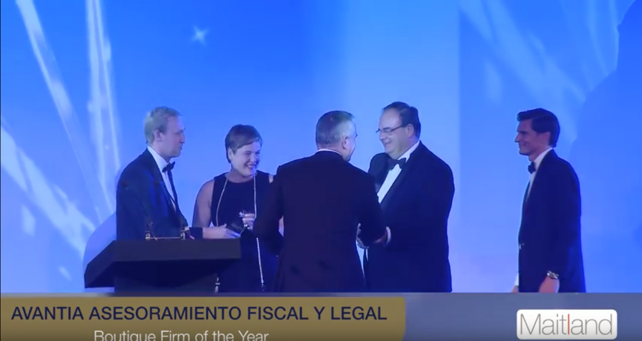 Video- Avantia Asesoramiento  Fiscal y Legal wins STEP PCA for Boutique Firm of the Year 2015/16